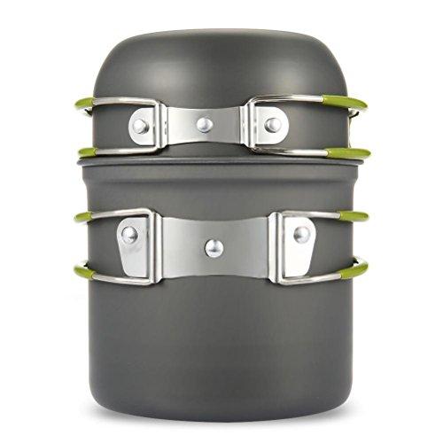 WINOMO 2pcs utensilios de cocina–Juego de cazuelas y sartenes herramienta de cocción para al aire última...