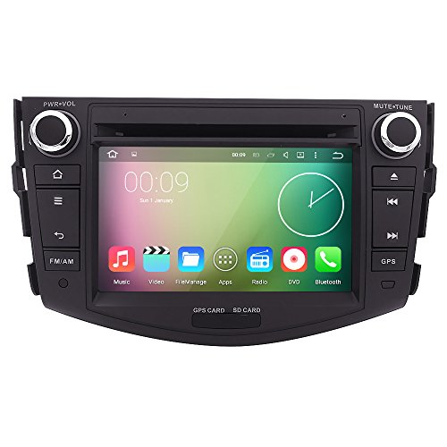 HIZPO Quad Core Android 5 1 Car DVD GPS for Toyota RAV4