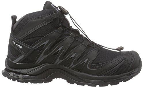Salomon Xa Pro Mid GTX, Women's Walking and Hiking Boots Black - Schwarz (Black/Black/Asphalt)