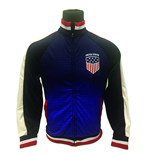 Icon Sport USA Jacket, For Kids and Adults, a Track Soccer Jacket, All Youth and Adult Sizes (Adult - Usa Apparel Sports