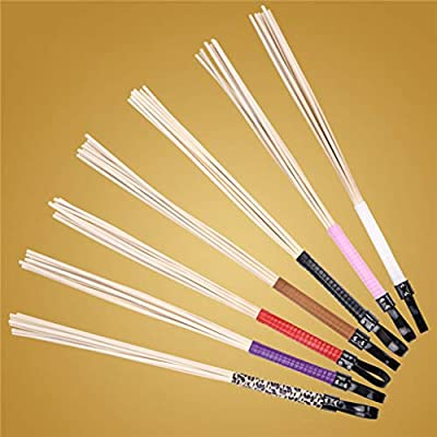 Rattan Cane -MOMU-Rattan Whip Round Pointer 8 Root Tool Cosplay Toys: Kitchen & Dining