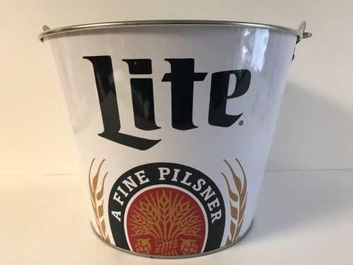 Miller Lite Logos - 2016 Retro Logo Miller Lite A Fine Pilsner Beer Ice Bucket