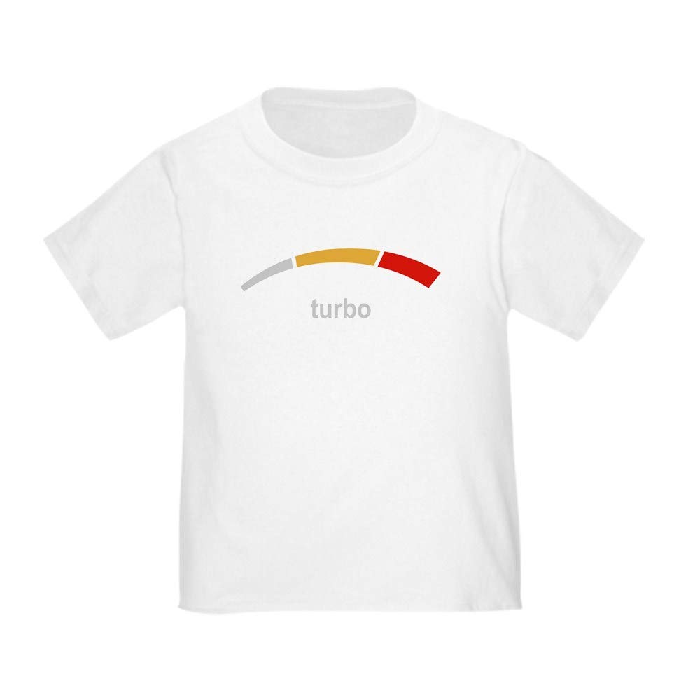 c130b4bf3 Amazon.com: CafePress Turbo Toddler T Shirt Cute Toddler T-Shirt, 100%  Cotton White: Clothing
