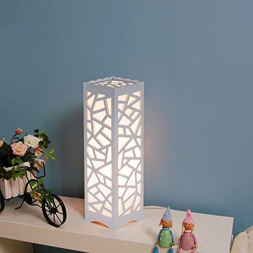 Night Lights Wood Table Lamps - 5