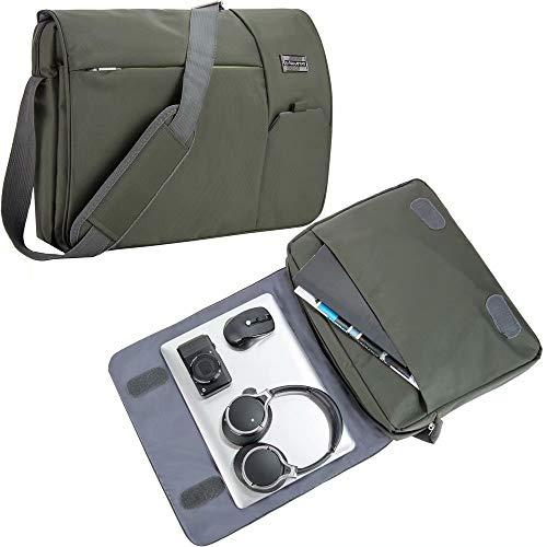 College Office Shoulder Bag 15.6 Inch Laptop Messenger Fit for Lenovo IdeaPad 720S, 530S, 330, 330S, 130, Flex 15 2 in 1, Legion Y730 Gaming, Y530 Gaming, Y520 Gaming, Y740, Y540