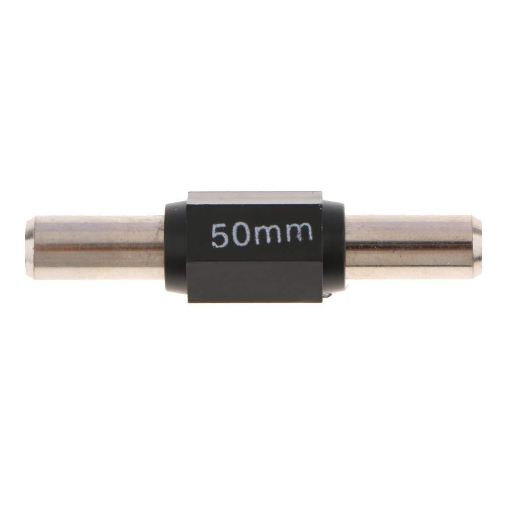 Sharplace Calibrador De Micr/ómetro Exterior Calibraci/ón Est/ándar Barra De Barra 75mm