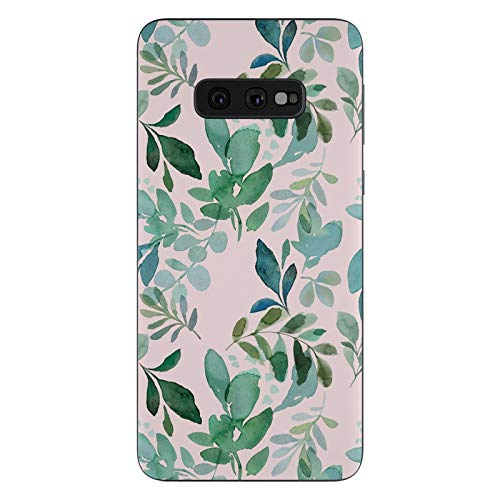 (Sage Greenery Protective Decal Sticker for Samsung Galaxy s10e - Scratch Proof Vinyl Skin Wrap Thin Edge Line Cover and Made in USA)
