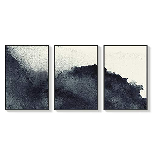 NWT Framed Canvas Wall Art for Living Room, Bedroom Abstract Zen Canvas Prints for Home Decoration Ready to Hanging - 24