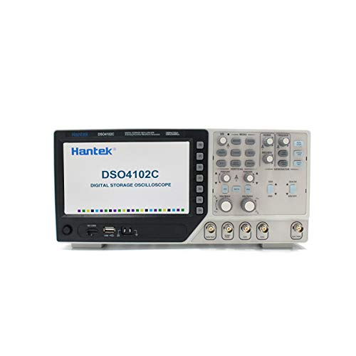 Hantek DSO4102C Digital Multimeter Oscilloscope USB 100MHz 2 Channels Handheld Osciloscopio Portatil Logic Analyzer