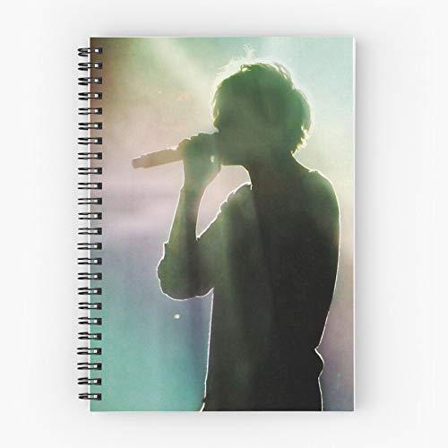 Spiral Tomlinson Louis Notebook Spiralblock mit dauerhaftem Druck