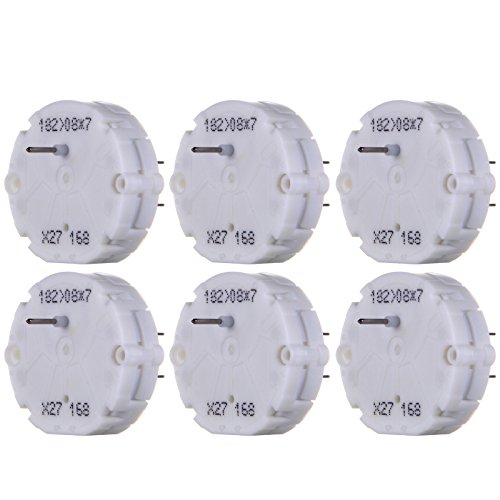 6pack cciyu Stepper Motor X27 168 Instrument Cluster Repair Speedometer Gauge Replacement fit for GM Chevy