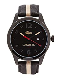 Lacoste Men's Auckland 2010724 Black Nylon Quartz Watch
