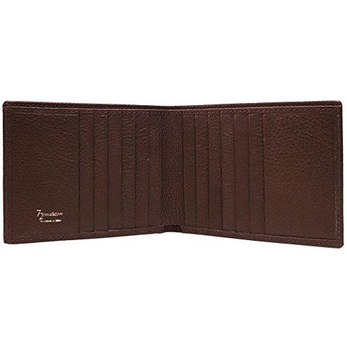 CC Calf Brown Billfold Brown 10 10 CC Leather Grained EwxgqUFC