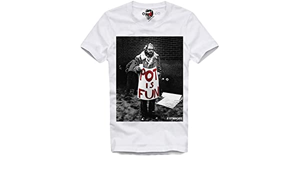 E1Syndicate T Shirt Pot IS Fun Dope Cocaine Drugs Yeezy LSD Supreme: Amazon.es: Ropa y accesorios