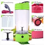 Electric Personal Smoothie Mixer | Portable (Green)