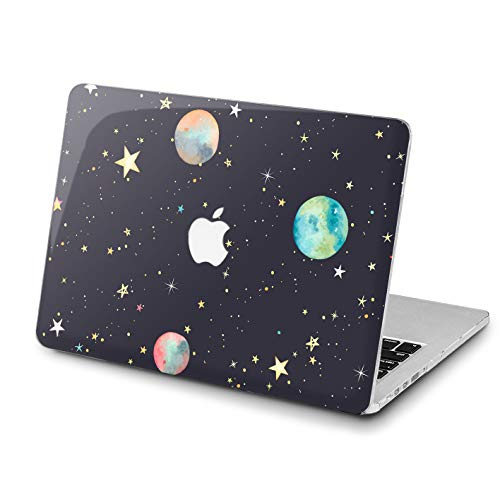 Lex Altern Watercolor Space MacBook Air Planet Case 13 inch Pro A1989 15 12 11 2017 Model 2018 Yellow Stars Mac Retina Cover Plastic Hard Top Apple 2016 2015 Protective Girl Print Glam Luxury Amazing]()