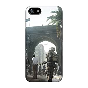 Awesome Battlefield 3 Flip Case With Fashion Design For Iphone 5/5s