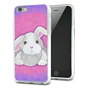 Bunny Rabbit Slim Fit Hybrid Case Fits Apple iPhone 6
