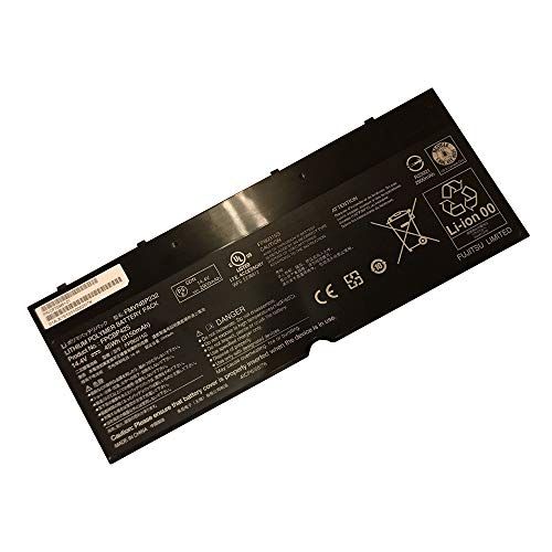 (New 14.4V 45Wh 3150mAh FPCBP425 FMVNBP232 Laptop Notebook Battery Compatible Fujitsu Lifebook U745 T935 T904U Series)