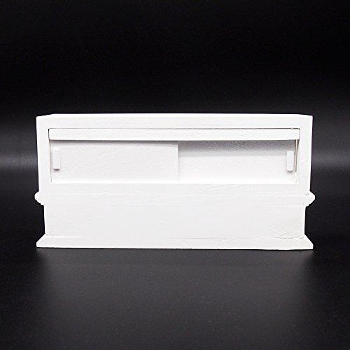 Miniature WHITE LEGAL Pad of Paper LIGHT BLUE Binding DOLLHOUSE 1:12