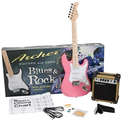 Archer Solid-Body Electric Guitar with Maple Neck