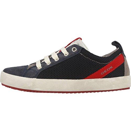 Geox Jungen J Alonisso Boy B Sneaker Dunkelblau