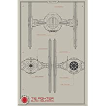 Trends International RP13978 Star Wars The Force Awakens Black Squadron Wall Poster