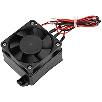 110V Mini Air Heated Constant Temperature Insulation PTC Thermistor Heater Element With Fan(12V/250W)