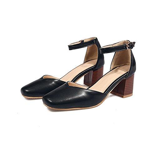 BalaMasa Noir Femme Sandales Noir 36 5 Compensées wwq0Ux4A