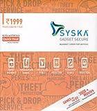 Syska Secure Gadget Plan 1999 (Handset/Tablet Coverage Rs. 25000-59999)
