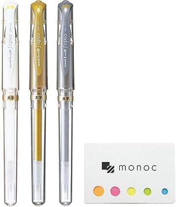 1.0mm // WHITE /> 24//pk Uni-Ball Signo UM-153 Broad Bold Rollerball Gel Art Pens