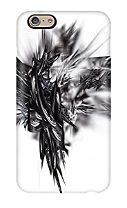 Forever Collectibles White Abstract Hard Snap-on Iphone 6 Case
