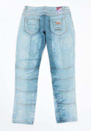 BUCK`s - LOHAS BJ128 Limited No.115 Öko Röhrenjeans 31/31 blue -Miss twy-