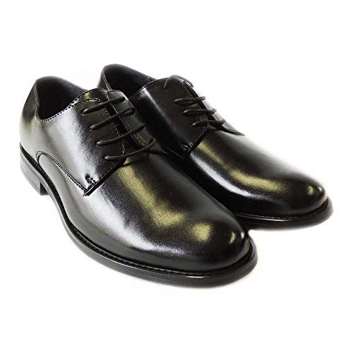 NEWDELLI ALDO Mens LACE UP Round Toe Oxfords LEATHERLINED Dress SHOES-M19399L /Black (13)