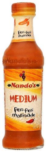 Nandos Medium Peri Peri Saus 270 ml (Pack van 6)