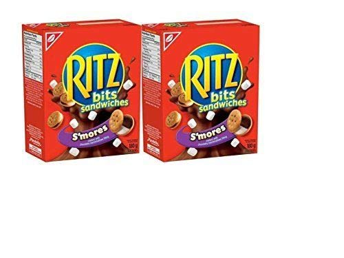 Ritz Bits Sandwiches Smores 180 Gram/6.34oz (Pack of 2) {Imported from Canada}