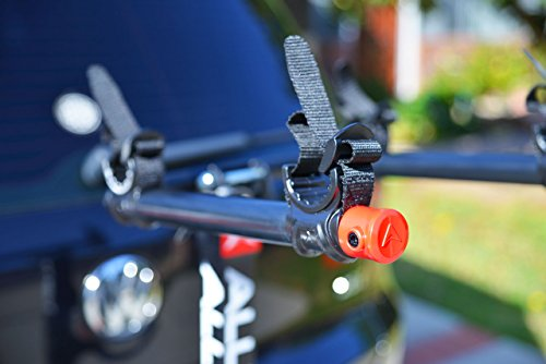 Allen Sports Deluxe Locking Quick Release 2-Bike Carrier for 2 in. & 1 4 in. Hitch by Allen Sports (Image #3)