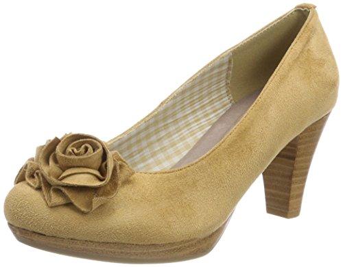 Andrea Toe Conti 3000518 Beige Sand Closed Women's Heels rqOrWwIB