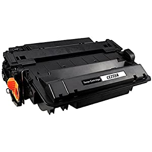 Do it Wiser Compatible Black Toner Cartridge for HP LaserJet P3010 P3015 P3015dn P3015n P3015x LaserJet Pro MFP M521dn - CE255A HP 55A - Yield 6,000 pages
