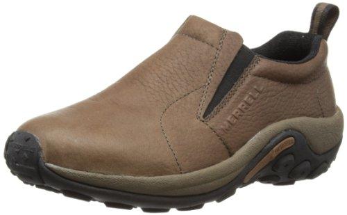 Merrell Men's Jungle Moc Black Slate Leather 13 M US (Footwear Men Shoes)