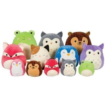 Squishmallow Original Kellytoy 8