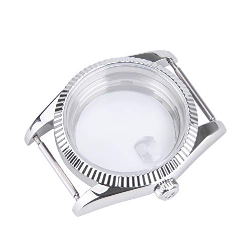 Eta Watch Parts - Tangren Replacement 36mm Retro Steel Watch Case Parts Fit for ETA 2824 Movement