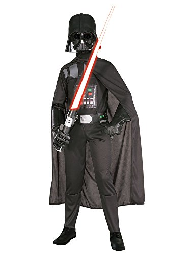 Rubie's Star Wars Child's Darth Vader Costume, Medium,