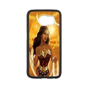 Steve-Brady Phone case Wonder Woman Protective Case For Samsung Galaxy S6 Pattern-10