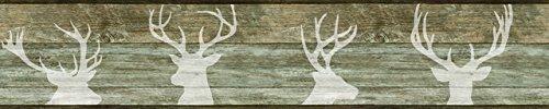 York Wallcoverings LG1461BD Deer Silhouette Border, ()