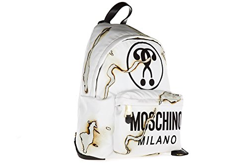 Moschino sac à dos femme blanc