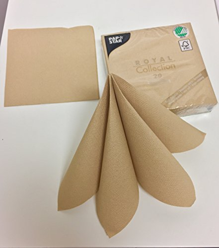 Linen-feel, Cloth-like Paper Disposable Napkins | 20 Pack