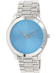 Michael Kors MK3292 Womens Slim Runway Blue Dial Stainless Steel Bracelet Watch