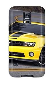 Cute Appearance Cover/tpu WFqdYGo1269sicBR Yellow Camaro Case For Galaxy S5