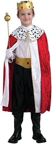 Kings Costume For Kids (Forum Novelties Regal King Child Costume,)